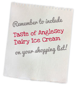 A Taste of Anglesey - where to buy our dairy ice cream