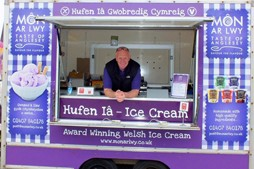 Quality home made ice cream Anglesey